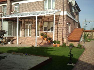 крыша Veranda T для навесов возле дома