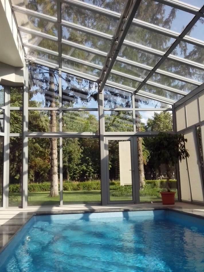 Зимний сад с композитным бассейном - №5