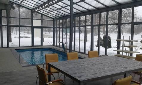 Зимний сад зимой - №4