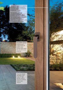 дизайн алюминиевых окон
