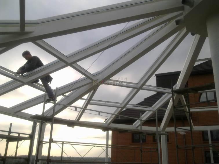 проект оранжереи в Киеве