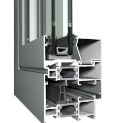 алюминиевый профиль для окон CS68