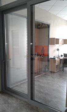 Подъемно - сдвижные двери вид снаружи 2