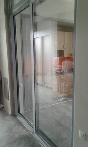 Подъемно - сдвижные двери вид снаружи 1