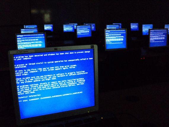 синии экраны Windows
