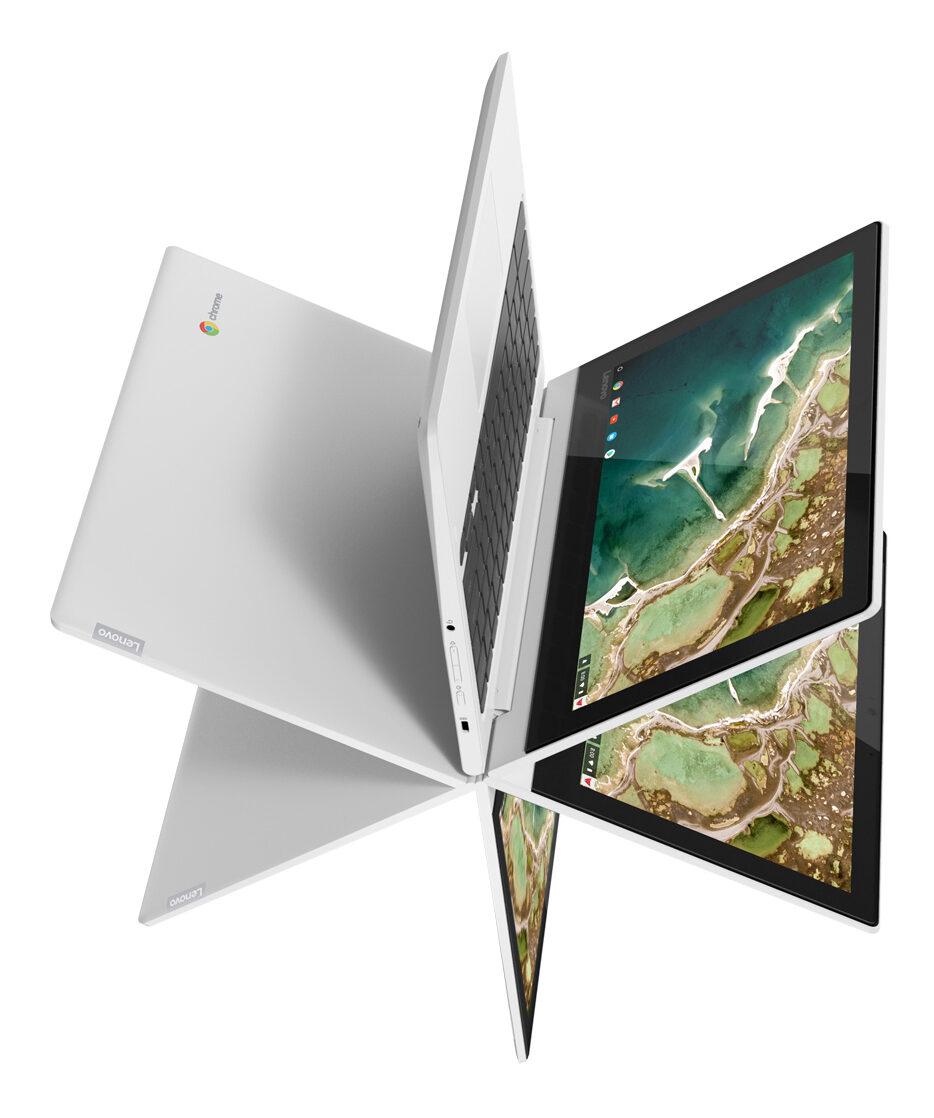 Chromebook с двумя экранами