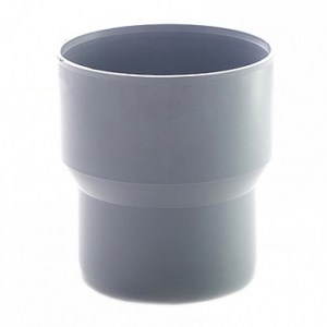 6 9 - Переход на чугун (тапер) ПП серый