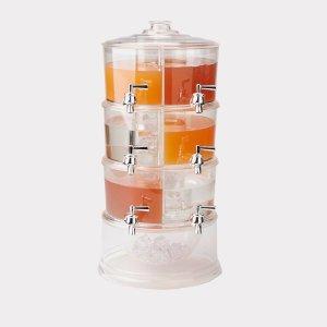 3 Tier 384 oz. Beverage Dispenser