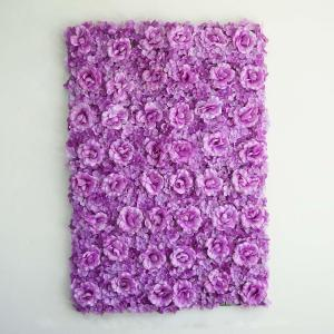 UV Protected 3D Rose & Hydrangea Flower Wall Mat Panel