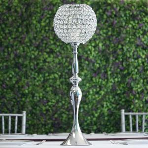 30″ Acrylic Crystal Goblet Holder