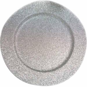 13″ Round Glitter Acrylic Plastic Charger