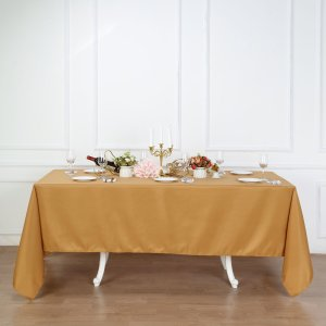 72×120″ Polyester Rectangular Tablecloth