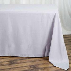 90×132″ Polyester Rectangular Tablecloth