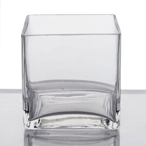 Premium Square Glass Vase