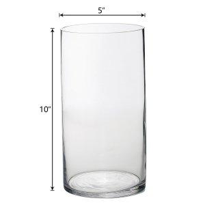 10″ Heavy Duty Cylinder Vase