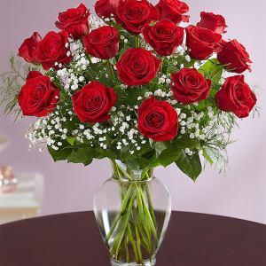 18 Red Rose Sympathy Bouquet