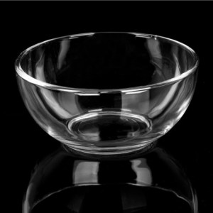 6 in. Clear Glass Bowl