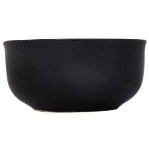 6 in. Classic Black Stoneware Bowl