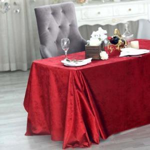 90″ x 156″ Premium Velvet Rectangle Tablecloth
