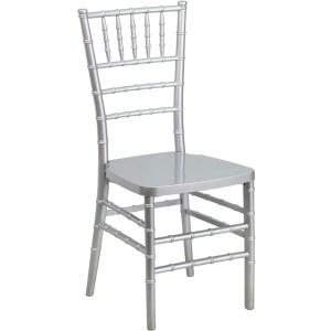 Silver Resin Chiavari Chair