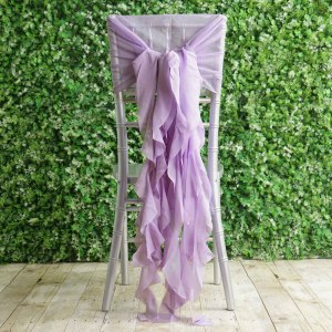 Curly Willow Chiffon Chair Sashes