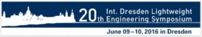 20th International Dresden Lightweight Engineering Symposium - International Dresden Lightweight Engineering Symposium 2016-03-31 10-42-05