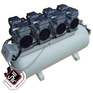CMD 480-100 Professioneller Druckluftkompressor leise zuverlässig mit 100 Liter Tank