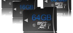 Micro SD Card não é formatado