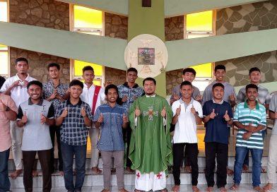 Postulan Ordo Saudara Dina Konventual Menimba Semangat Pertobatan Santo Fransiskus Assisi