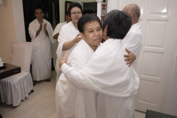 Seluruh anggota Eden turut memberikan doa dan selamat