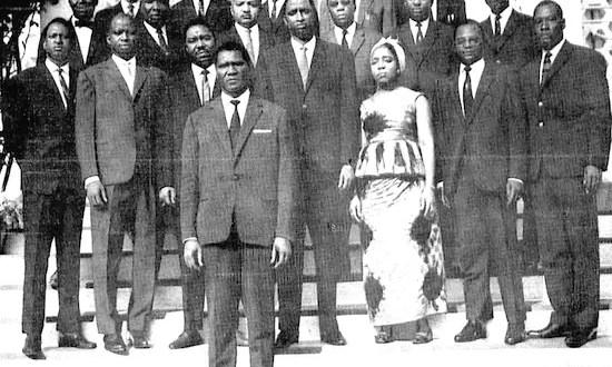Le gouvernement de janvier 1963 dont une grande partie des membres finira en prison ou exécuté.