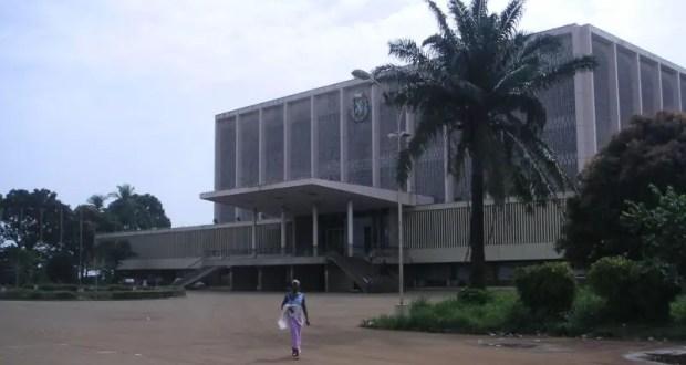 Le Palais du peuple, siège du parlement de la République de Guinée à Conakry. Photo wikipedia, CC BY 2.5