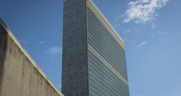 Photo ONU/Rick Bajornas Le bâtiment du secrétariat des Nations Unies à New York.