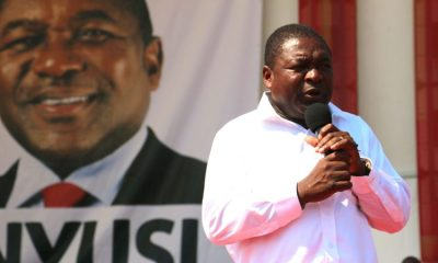 Filipe Nyusi lors de la campagne électorale de 2014. Photo: Wikimedia Commons CC BY-SA 2.0
