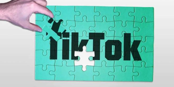 Le puzzle noir et blanc TikTok. L'illustration de Christoph Scholz est sous licence CC BY-SA 2.0