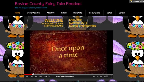Bovine Count Fairy Tale Festival Home page