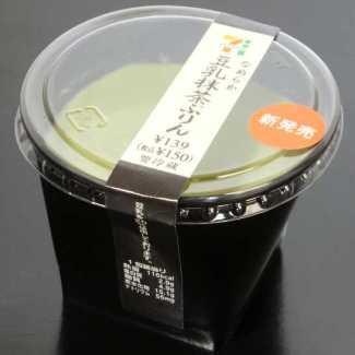 コンビニスイーツだ_なめらか豆乳抹茶ぷりん【セブンイレブン】_外観00