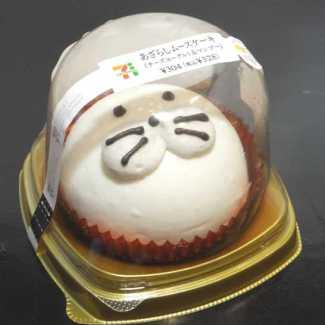 コンビニスイーツだ_あざらしムースケーキ【セブンイレブン】外観00