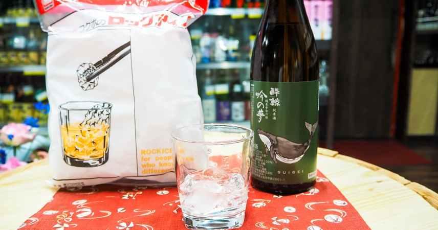 オンザロック 『アイス × 日本酒』