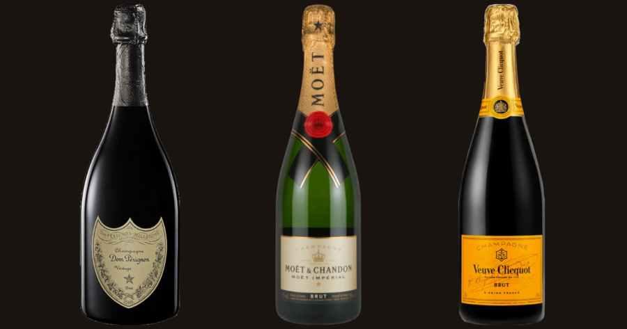 シャンパンの有名銘柄をご紹介