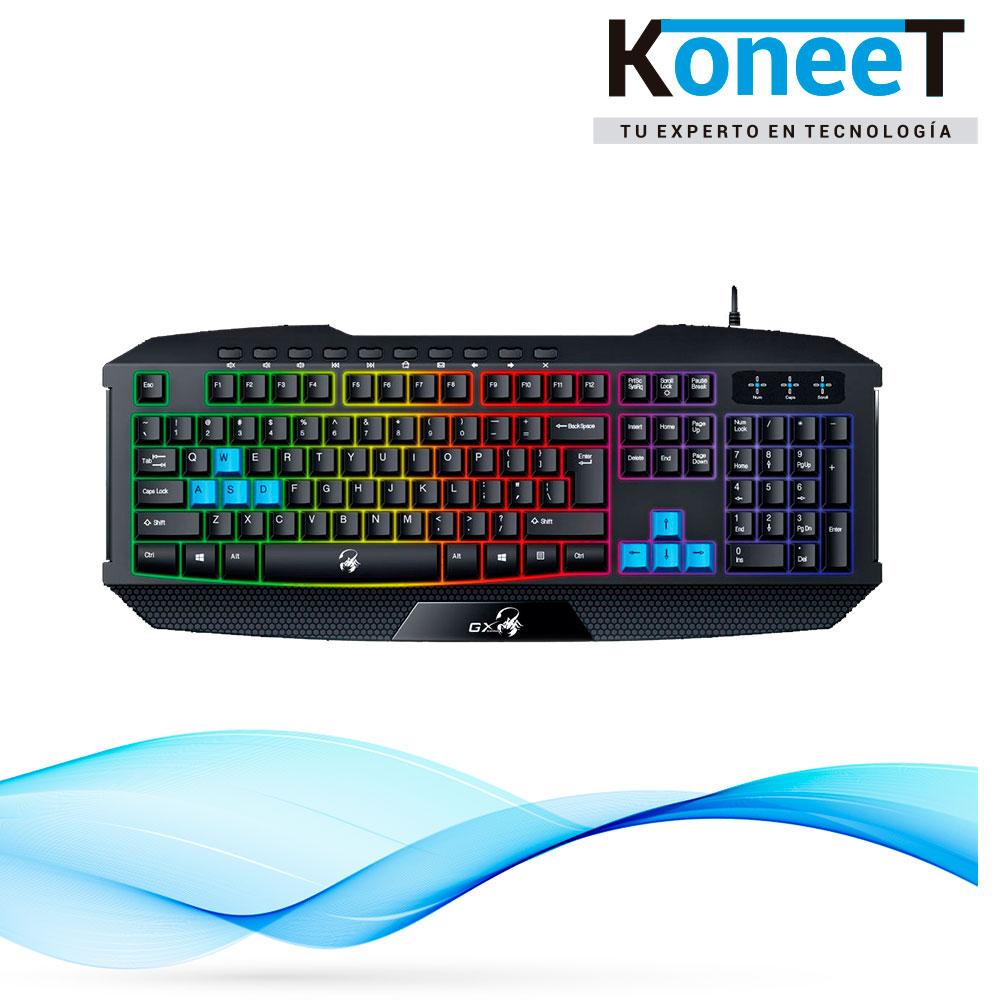 Teclado Gamer Scorpion k215 Genius | KoneeT - Tu Experto en Tecnología