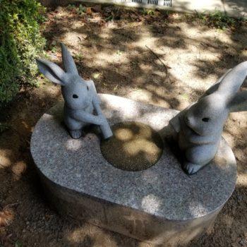 出雲大社 ウサギのオブジェ