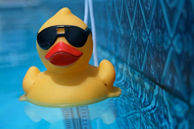 Reanimacja gumowej kaczuszki — jak dbać ozabawki kąpielowe Image