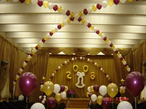 Оформление и украшение шарами залов и помещений на ...