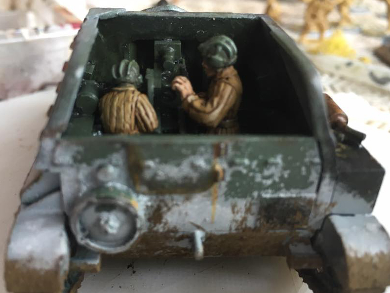 The Rear showing the Crew component and heavy weathering