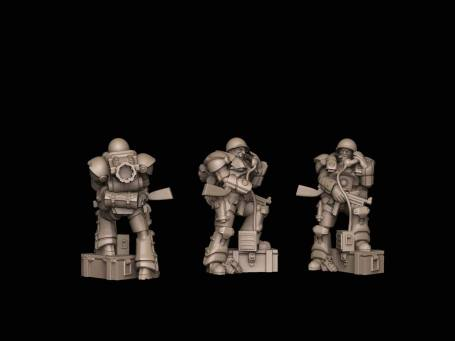 US heavy INfantry air observer