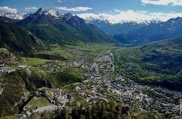 Briançon i de franske alper