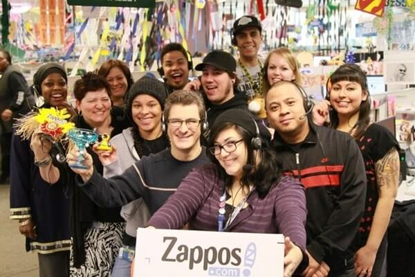 Kong & Way Example of great company culture - Zappos