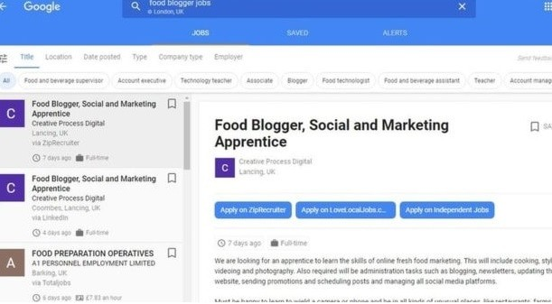 Google's job hunting Agency Arrives to UK