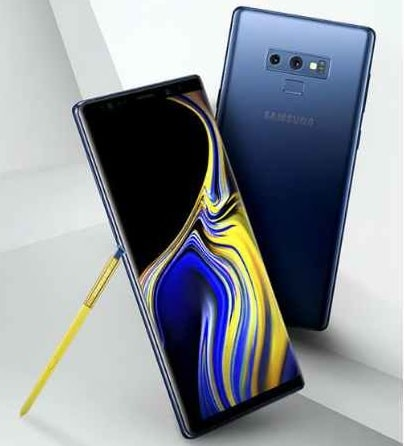 Samsung-galaxy Note 9 Leaked Render Exhibits New Straight Back Panel